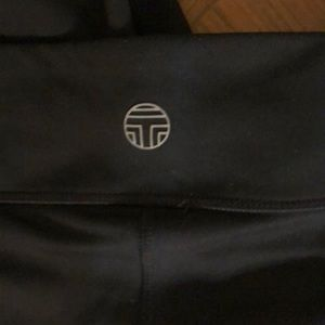 Tory Burch Pants - EUC Tory sport black chevron leggings size XS